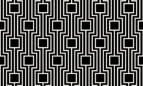 Badematte Geometrisches Design 02