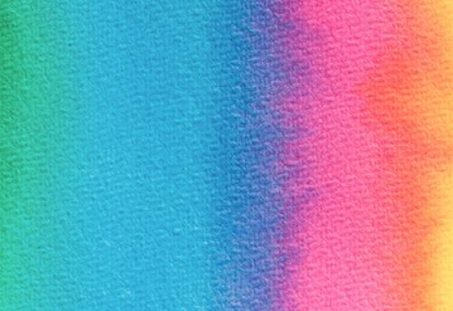 Badematte Aquarell bunter Farbverlauf 01