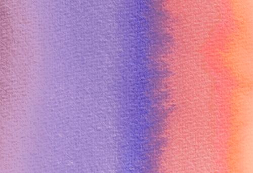 Badematte Aquarell bunter Farbverlauf 02